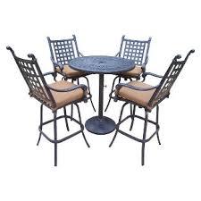 rosemont 7 piece aluminum dining furniture set target