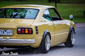 toyota arabalar streetstatik klayton u0027s ke35 corolla custom foreign classics