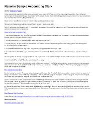 Best Resume Format Forbes by Resume For Clerk In Bank 5 Bank Resume Format Mailroom Clerk