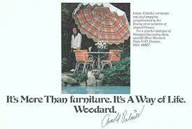 Woodard Patio Furniture - woodard furniture advertisement gallery