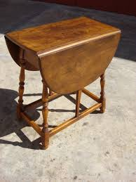 Drop Side Table Adorable Drop Side Table With Wonderful Vintage Drop Leaf Table