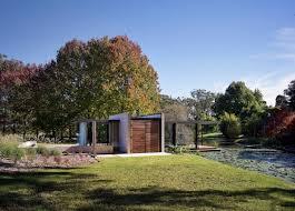 glass pavilion entrance lawn pond glass pavilion in somersby australia