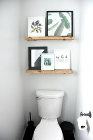 Diy Restoration Hardware Reclaimed Wood Shelf by Best 25 Shelves Above Toilet Ideas On Pinterest Half Bathroom