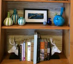 Staggered Bookshelves by Family Mary Sherwood Lifestyles