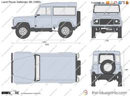 land rover drawing the blueprints com vector drawing land rover defender 90