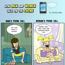 Talking On The Phone Meme - talking on the phone men vs women by csectioncomics meme center