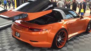 orange porsche convertible porsche targa dub style youtube