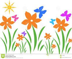 garden clipart summer garden pencil and in color garden clipart
