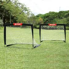 net playz soccer easy playz fold up training goal set of 2 toys