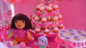 dora birthday party decoration ideas at home cake invitations
