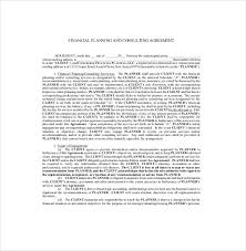 consulting agreement template u2013 10 free word pdf document
