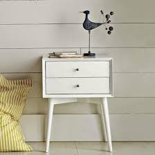 White Bedside Table Captivating Bedside Table Ideas This Is Modern White Bedside Table