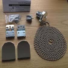 chrome effect metal bracket roller blind repair kit fixing kit