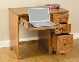 Small Wood Computer Desk With Drawers Desk Wood With Drawers Computer Desks For Home Office Pertaining