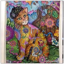 Épinglé par Ana Ojeda sur Art  Pinterest  Chats Le chat et Coloriage