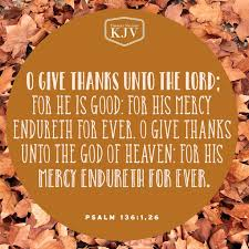 best 25 psalm 136 ideas on psalm 136 kjv thankful