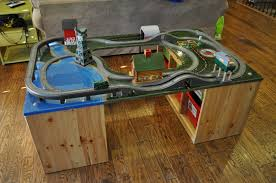 Brio Train Table Set Diy Train Table This Paint Job Is Doable Chugga Chugga Choo