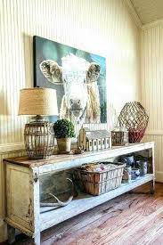 Shabby Chic Console Table Rustic Console Table Rustic And Shabby Chic Console Table With A