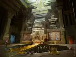 hidden ruins background spike pit room jpg