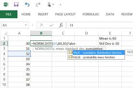 Bell Curve Excel Template How To Use Excel To Create A Bell Curve Techwalla Com