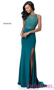 long and short 2018 prom dresses promgirl