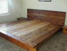 Pallet Platform Bed Platform Bed Frame With Headboard Best Ideas About Pallet