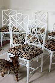 Dining Room Remodel My Jamil Natural Chairs Swoon Worthy - Animal print dining room chairs