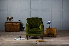 tufted glove velvet chair authentic furniture