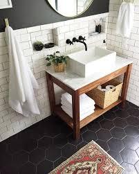 black tile bathroom ideas best subway tile bathroom photos liltigertoo liltigertoo
