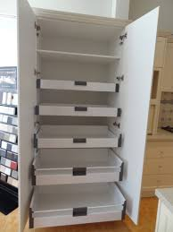 pantry cabinet with drawers kenwick cabinet works gallery pantry cupboard with blum internal