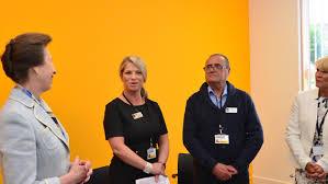 Princess Anne Princess Anne Opens New Forgewood Community Centre Scottish
