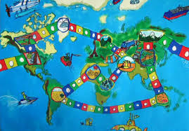 image for world map barbara petchenik children s world map drawing competition