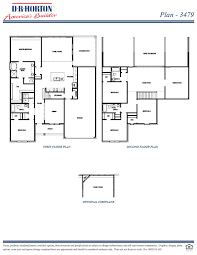 Floor Plans Texas 3479 Lexington Jackson Hills Sachse Texas D R Horton