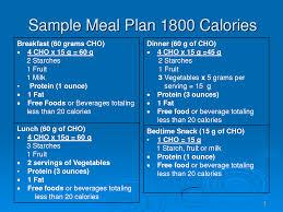 1800 calorie diabetic diet plan sample meal plan 1800 calories