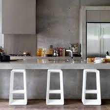 comptoir ciment cuisine table comptoir cuisine salle de bain scandinave noir paul