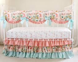 Pink And Gold Baby Bedding Blush Crib Bedding Etsy