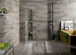 gray wood tile bathroom techethe com