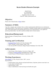 Sample Recent Graduate Resume Cover Letter Sample Resume Student Free Student Resume Sample