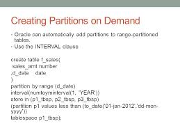 Alter Table Add Partition Chapter 12 Partitioning Divide And Conquer Partitioning