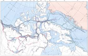 Henry Hudson Route Map by Arctic Exploration The Canadian Encyclopedia