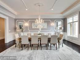 Traditional Dining Room Traditional Dining Room With Chandelier Wainscoting In Great
