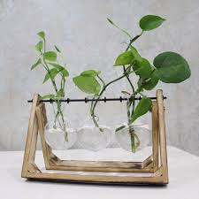 Decoration Vase Aliexpress Com Buy Vintage Style Glass Tabletop Plant Bonsai