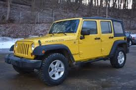 yellow jeep wrangler unlimited 2008 jeep wrangler unlimited rubicon naugatuck connecticut a