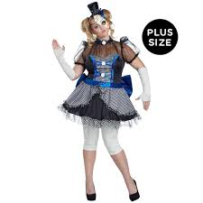 blue plus size broken doll costume for women buycostumes com