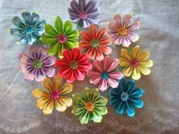 Paper Flowers Video - best 25 simple origami flower ideas only on pinterest origami