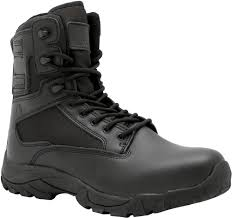 budget motorcycle boots lapg black classic 8