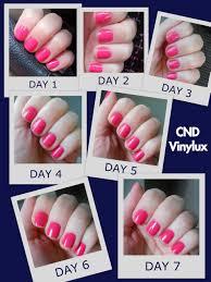 cnd vinylux pink review nail polish nail lacquers