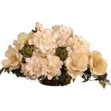 Faux Floral Centerpieces by Flower Centerpieces You U0027ll Love Wayfair