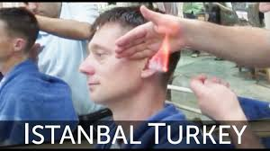 the turkish barber haircut grand bazaar istanbul turkey youtube