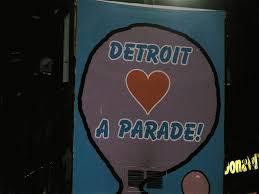 detroit thanksgiving day parade route parade night in detroit bikes books u0026 a little music